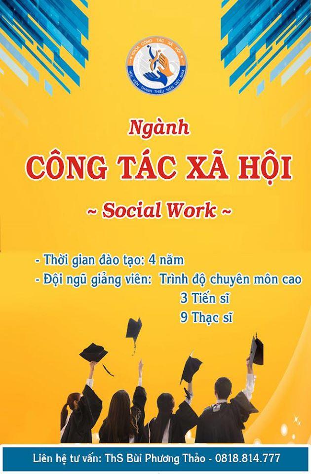 Tuyển sinh ngành Công tác xã hội
