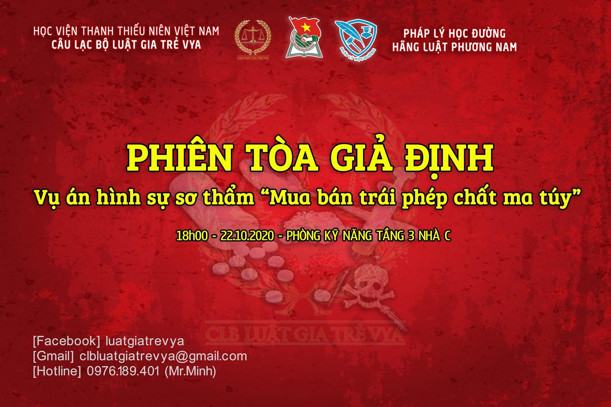 Giới thiệu ngành Luật tại Học viện Thanh thiếu niên Việt Nam