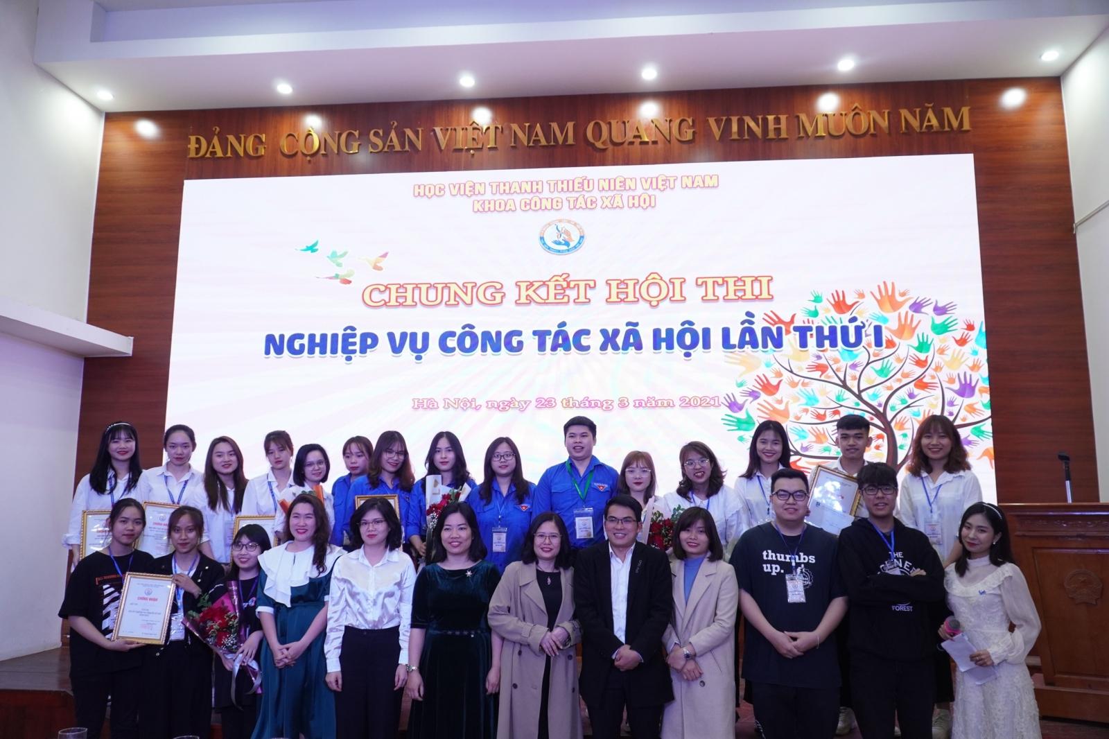 Học viện Thanh thiếu niên kỷ niệm ngày công tác xã hội