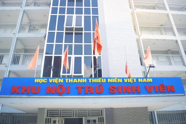 Mẫu đơn đăng ký ở Ký túc xá Học viện Thanh thiếu niên Việt Nam